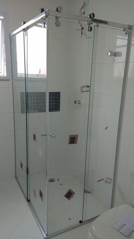 Box para Banheiro Vidro Temperado ABC - Comprar Box para Banheiro em Acrílico