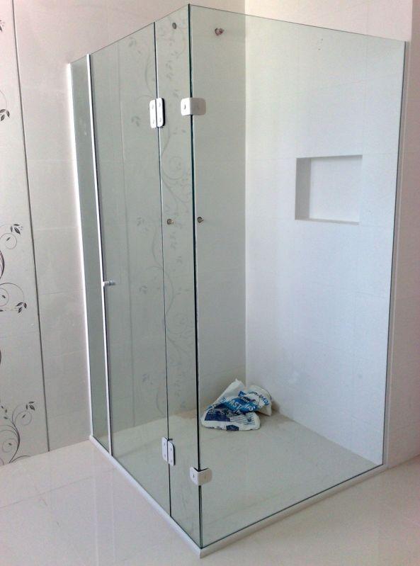 Box para Banheiro Vidro Temperado Preço Acessível em Embu Guaçú - Box para Banheiro em São Paulo