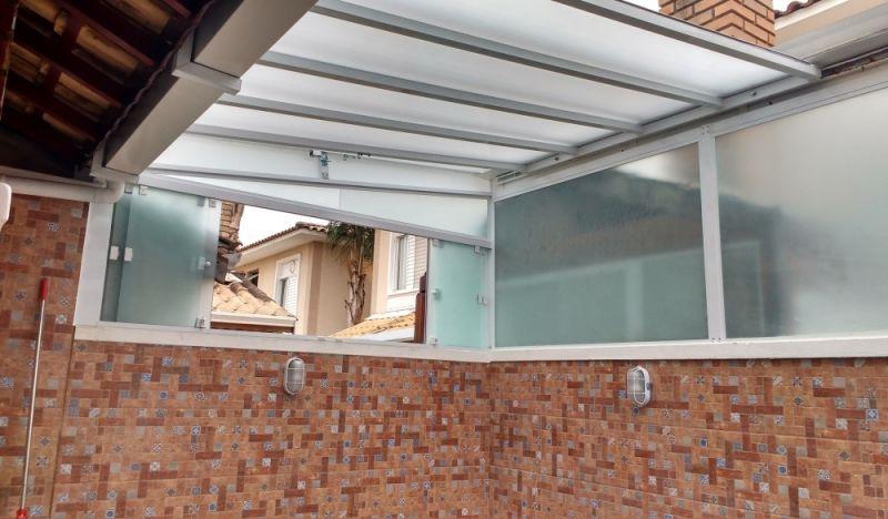 Cobertura Vidro Retrátil em Mairiporã - Cobertura de Vidro