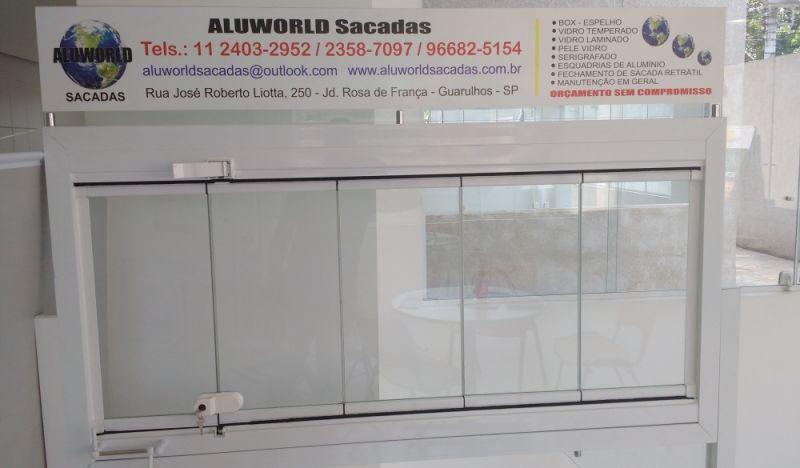 Empresas de Envidraçamento de Sacadas Onde Localizar no Brás - Envidraçamento de Sacadas em São Caetano