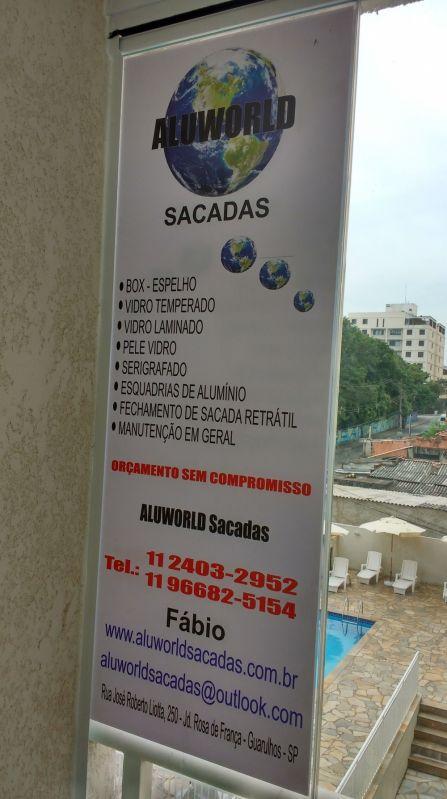Envidraçar Sacada de Apartamento Melhor Preço no Centro - Envidraçamento de Sacadas em São Caetano