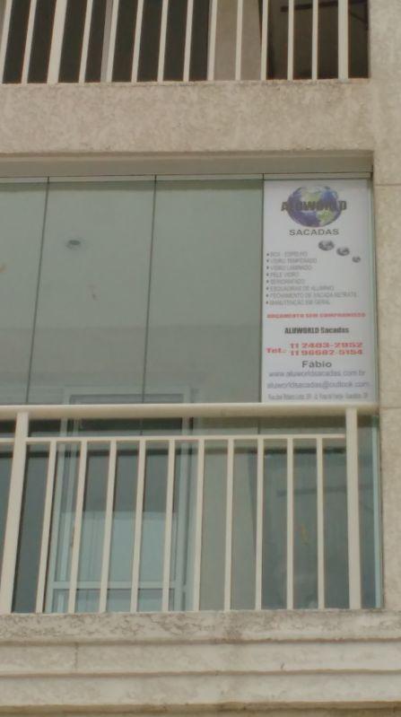 Envidraçar Sacada de Apartamento na Luz - Envidraçamento de Sacadas em São Caetano