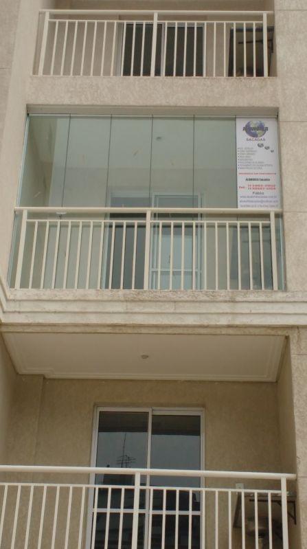 Envidraçar Sacada de Apartamento Preço em São Bernardo do Campo - Envidraçamento de Sacadas em São Caetano