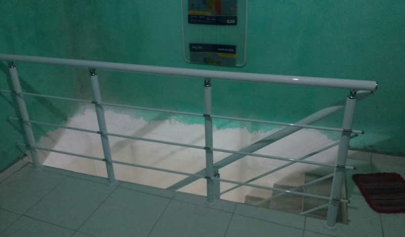 Guarda Corpo de Vidro de Escada Liberdade - Guarda Corpo de Vidro Fumê