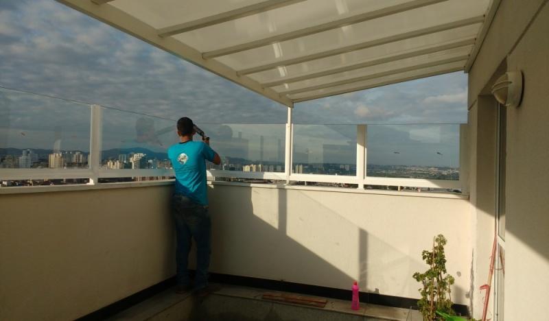 Guarda Corpo de Vidro Laminado Preço Guarulhos - Guarda Corpo de Vidro Fumê