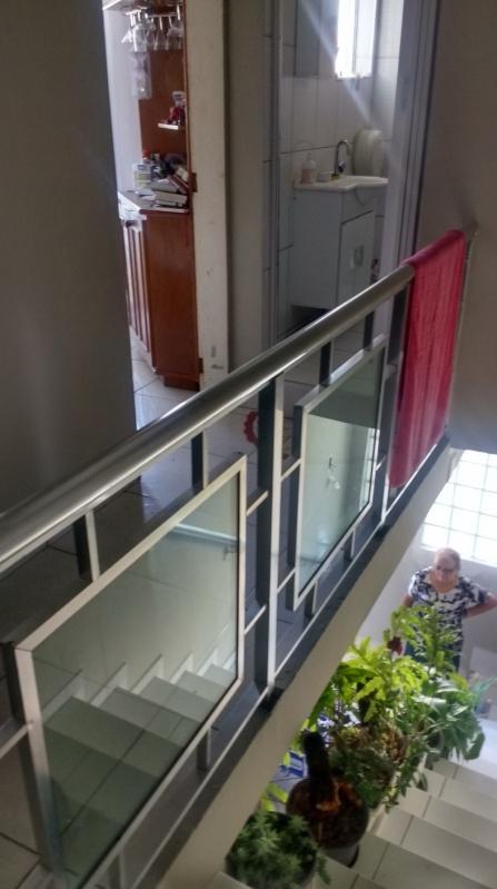 Guarda Corpo para Sacada Guararema - Guarda Corpo de Vidro Para Escada