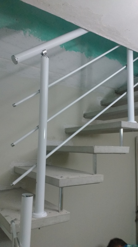 Orçamento de Guarda Corpo de Vidro de Escada ABCD - Guarda Corpo de Vidro com Torre