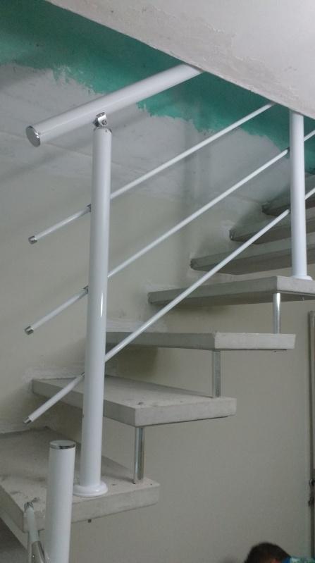 Orçamento de Guarda Corpo de Vidro de Escada Ribeirão Pires - Guarda Corpo de Vidro Redondo