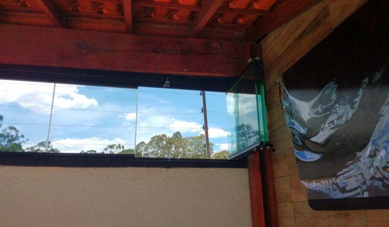 Quanto Custa Fechamento de Sacada Deslizante Salesópolis - Fechamento de Sacada Comerciais