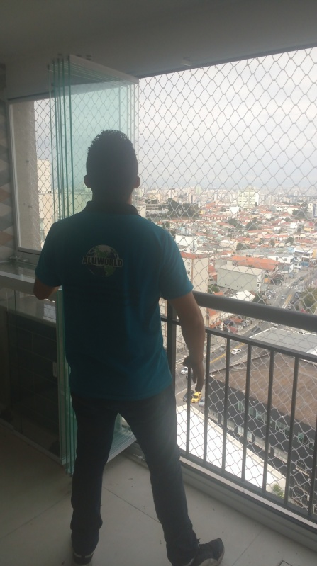 Quanto Custa Fechamento de Sacadas de Vidro Santa Cecília - Fechamento de Varanda Residencial