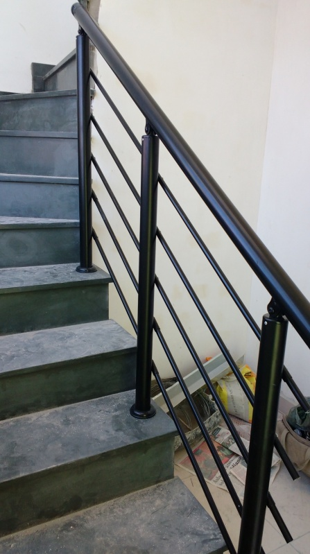 Quanto Custa Guarda Corpo de Vidro de Escada Embu Guaçú - Guarda Corpo Interno