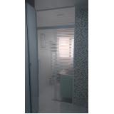 Box de banheiro vidro fumê preço Embu das Artes