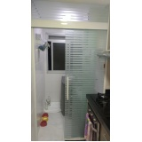 Box de vidro articulado para banheiro preço Caieiras