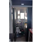 Box de vidro até o teto preço em Cajamar