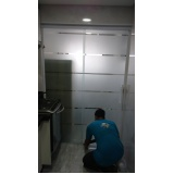Box de vidro até o teto preço em Guararema
