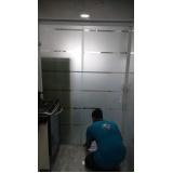 Box de vidro até o teto preço na Vila Buarque