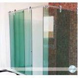 Box para banheiro vidro temperado em Mauá