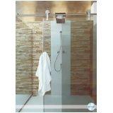 Box para banheiro vidro temperado melhor preço em Carapicuíba