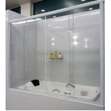 Box para banheiro vidro temperado melhor preço Embu