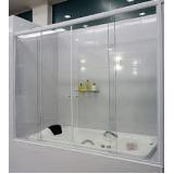 Box para banheiro vidro temperado melhor preço no Bixiga