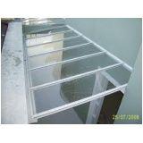 Cobertura fixa de vidro menor preço em Guararema