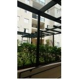 Cobertura retrátil de vidro melhor preço na Vila Buarque
