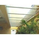 Cobertura retrátil de vidro quanto custa em Santa Isabel