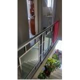 corrimão de escada Centro