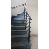 corrimão de escada de alumínio preço Diadema
