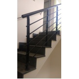 corrimão de escada de alumínio Vila Buarque
