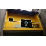 corrimão de escada em aço inox preço Embu