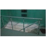 corrimão de escada externa preço Cajamar