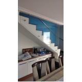 corrimão de escada preço Caierias