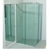 empresa de Box de vidro articulado Luz