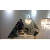 empresa de espelhos para salão de cabeleireiro Santo André