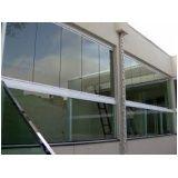 Envidraçamento de varanda melhor preço na Aclimação
