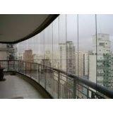 Envidraçamento de varanda onde contratar no Rio Grande da Serra