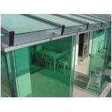 Envidraçamento de varanda preço acessível em Santa Cecília