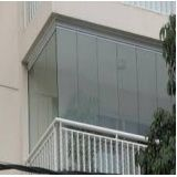 Envidraçamento de varanda preço em Caieiras