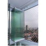 Envidraçar sacada com vidro temperado preço ABC
