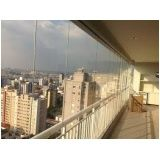 Envidraçar sacada com vidro temperado preço acessível em São Caetano do Sul