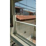 Envidraçar sacada com vidro temperado quanto custa em Caieiras