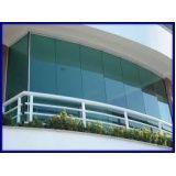 Envidraçar sacada com vidro temperado valor acessível em Poá