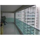 Envidraçar sacada com vidro temperado valor em Caieiras
