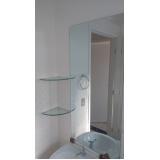 espelhos de banheiro preço Embu Guaçú