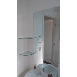 espelhos de banheiro preço Santa Efigênia