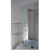 espelhos grandes para sala preço Santa Efigênia