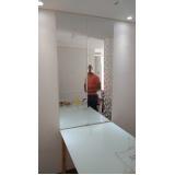 espelhos para salão de cabeleireiro Caieiras
