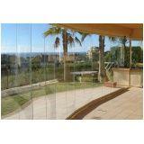 Fechamento da varanda com vidro preço acessível em Salesópolis