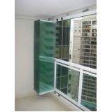 Fechamento da varanda com vidro valor acessível no Centro